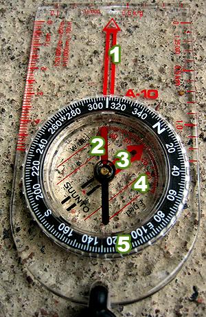 Suunto kompassi pieni copy