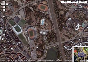1) Sateliittikuvia ja karttoja esimerkiksi http://maps.google.com